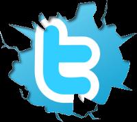 Cracked-Twitter-Logo