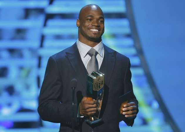 Peterson-Adrian-MVP-NFL Honors 2013