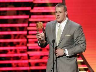 watt-jj-defensive player of the year-nfl honors 2013