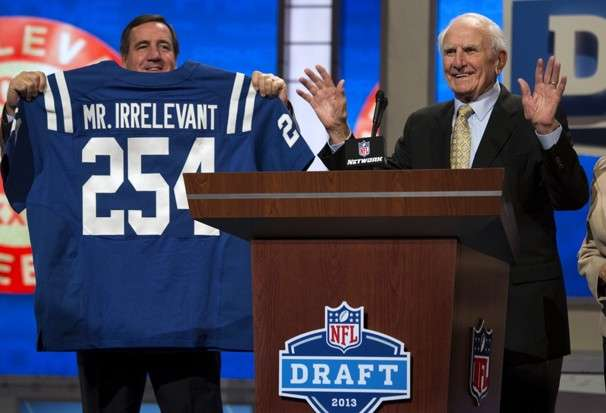 NFL Draft Mr Irrelevant-2013