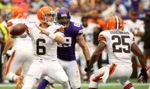 Le quart des Browns Brian Hoyer
