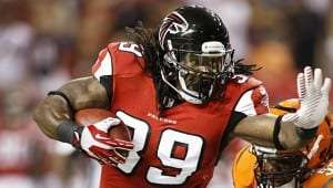 Le porteur des Falcons Steven Jackson sera absent de 2 à 4 semaines