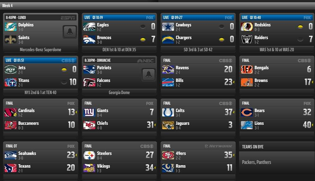 Nfl scores best of mages nfl scores week 4 nfl game publicscrutiny Gallery