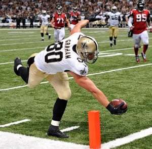 Jimmy Graham des Saints