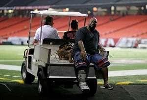 Lourde perte pour les Patriots, Vince WIlfork blessé