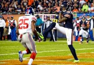 Brandon Marshall des Bears de Chicago