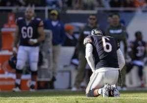 Jay Cutler des Bears s'est blessé à la cheville