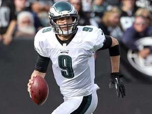 Le quart Nick Foles des Eagles