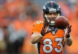 Wes Welker des Broncos