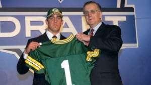 Aaron Rodgers en 2005