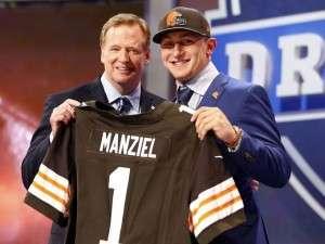 Johnny Manziel, 22e choix des Browns