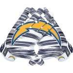 Chargers-gloves