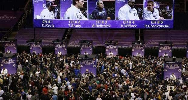 Journée Média Super Bowl 49: Faits saillants