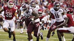 Victoire de Texas A&M face à Arkansas