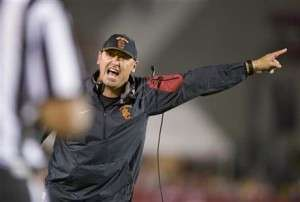 Steve Sarkisian a quitté l'équipe USC