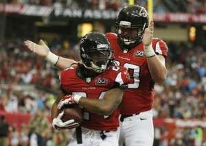 Les Falcons ont surpris les Panthers qui ont subi leur 1re défaite de la saison.